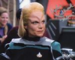 Daphne Ashbrook Very Rare Signed 10 x 8 Photograph from Star Trek DS9. 1870